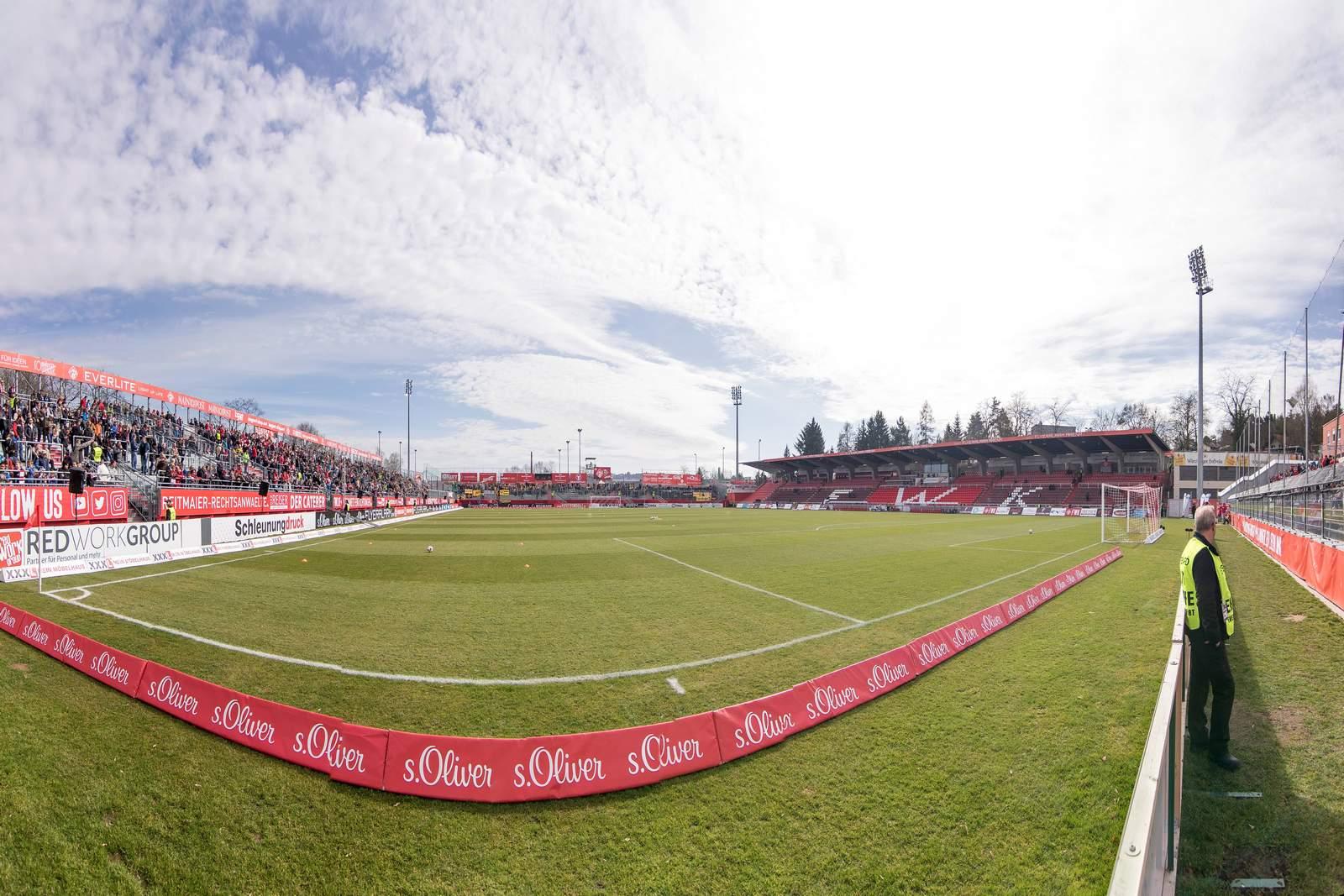 Stadion der Würzburger Kickers