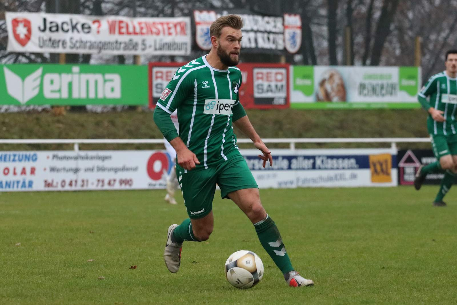 Yannick Deichmann vom VfB Lübeck.