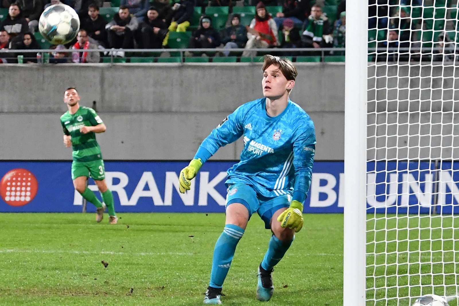 Michael Wagner von der FC Bayern U23