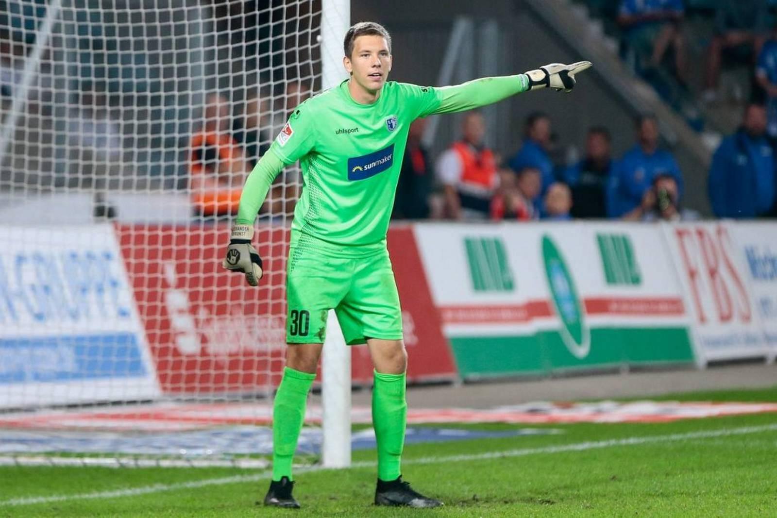Alexander Brunst vom 1. FC Magdeburg