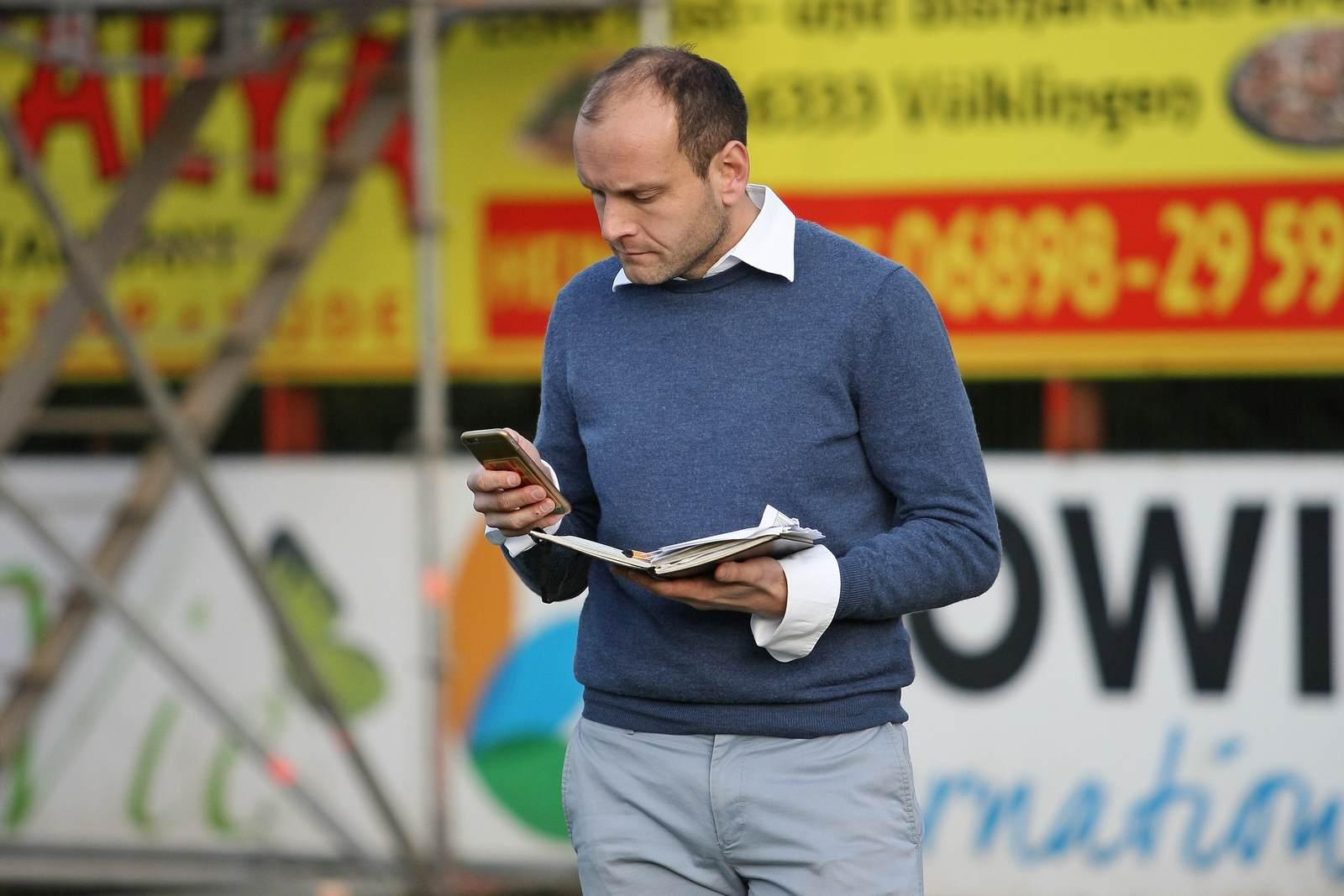 David Fischer beim 1. FC Saarbrücken