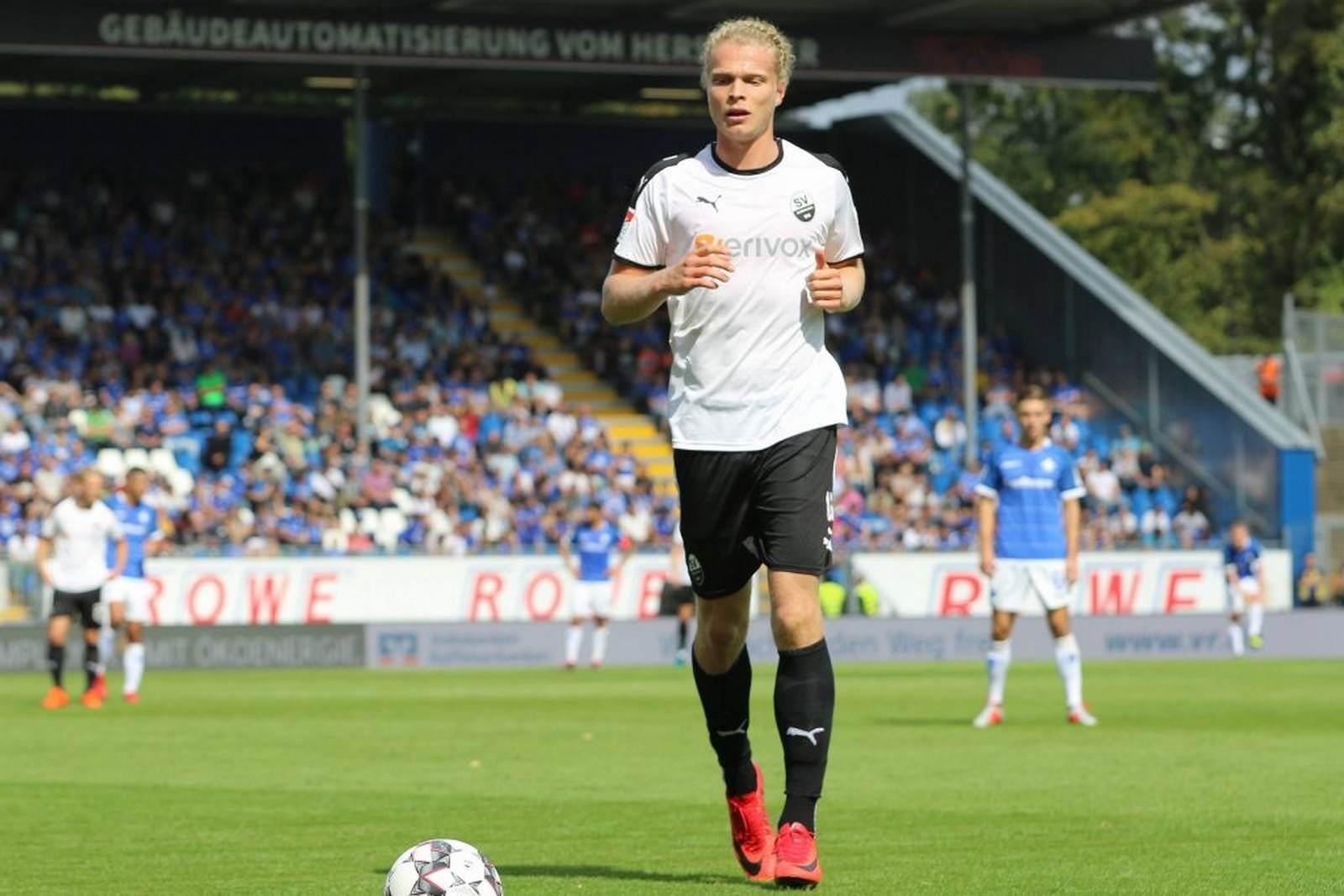 Jesper Verlaat beim SV Sandhausen