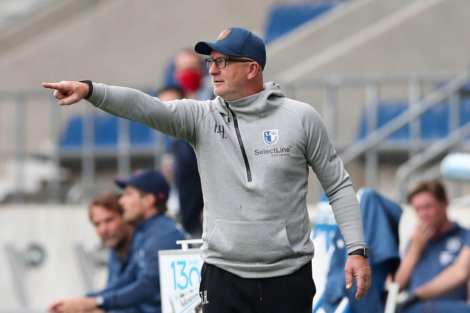 Thomas Hoßmang vom 1. FC Magdeburg