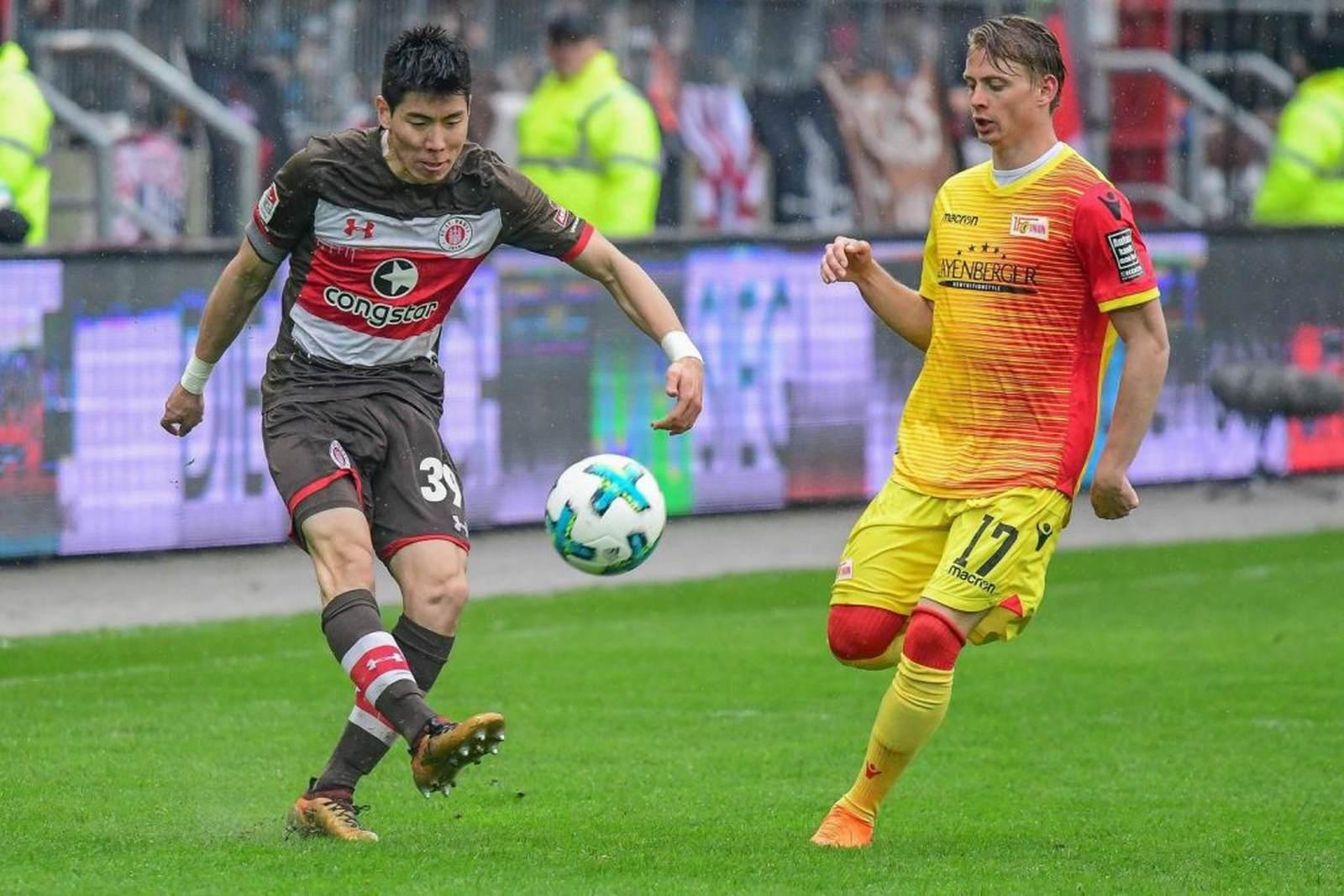 Yi-young Park beim FC St. Pauli