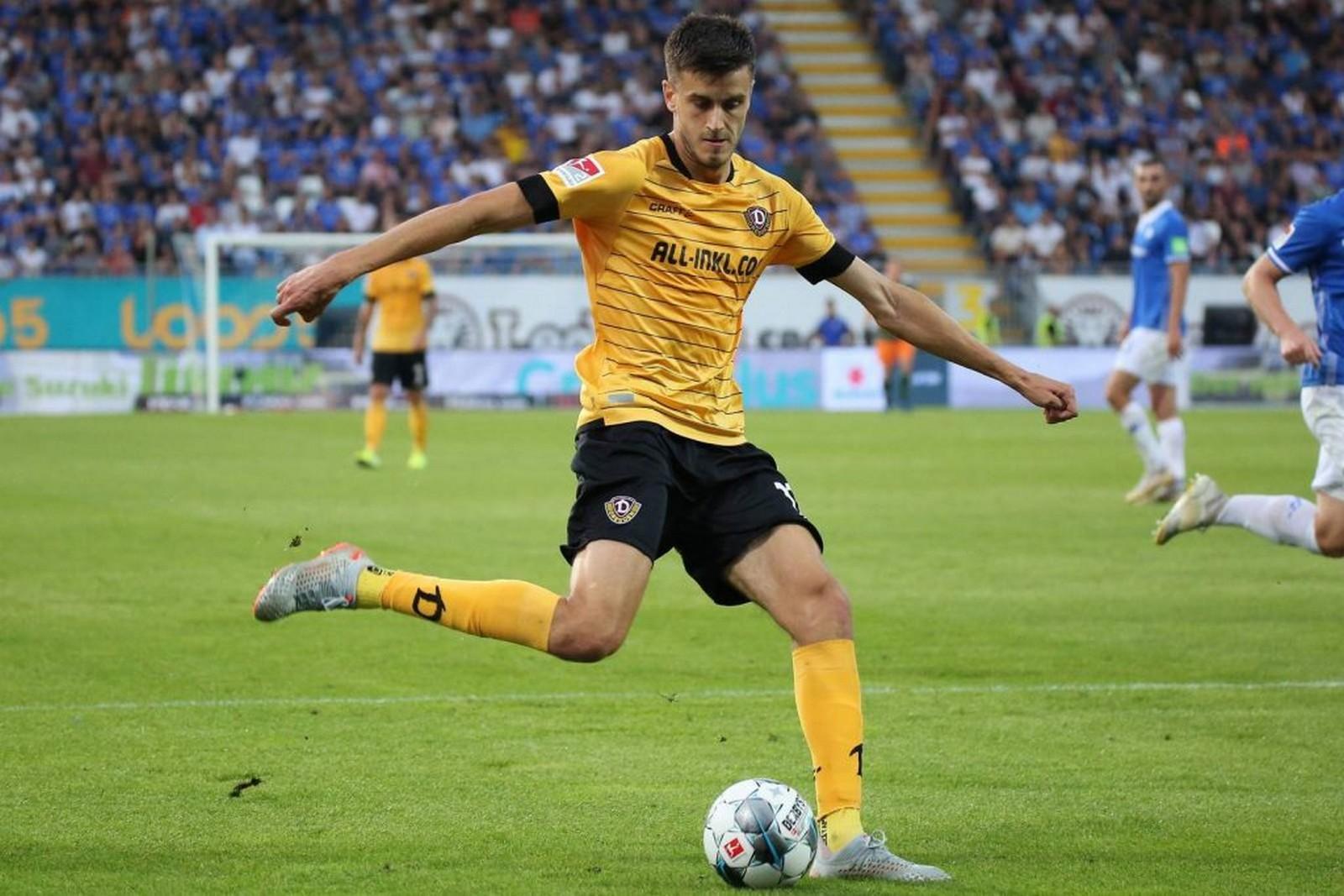 Alexander Jeremejeff bei Dynamo Dresden