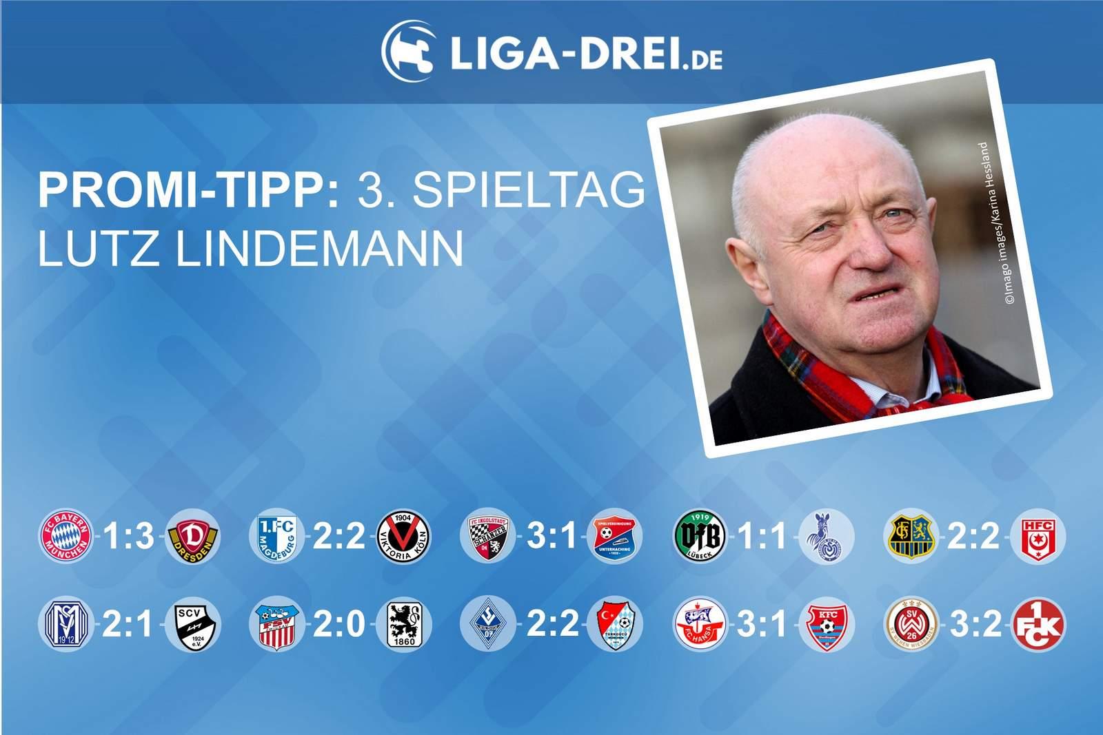 Lutz Lindemann beim Promi-Tipp