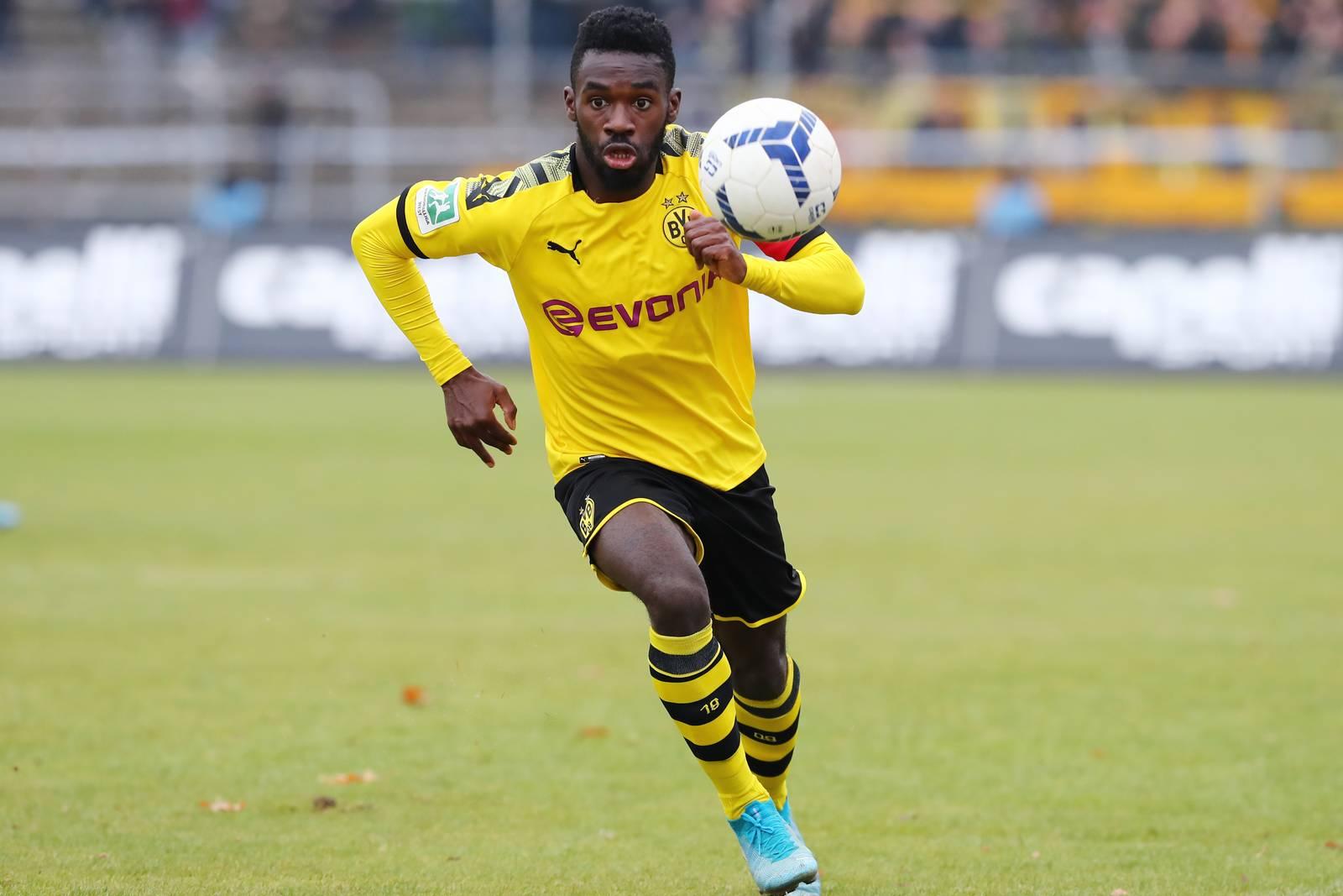 Joseph Boyamba bei der U23 des BVB