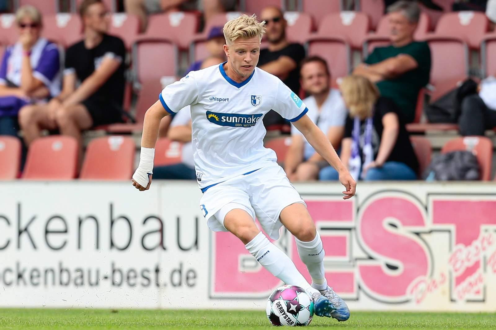 Sebastian Jakubiak vom 1. FC Magdeburg
