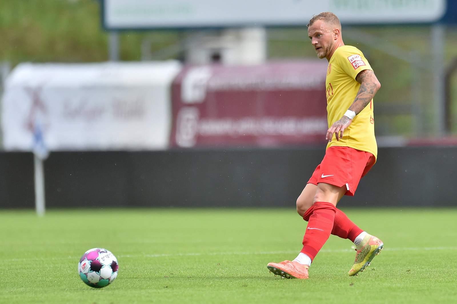 Christoph Hemlein im Test gegen Osnabrück.