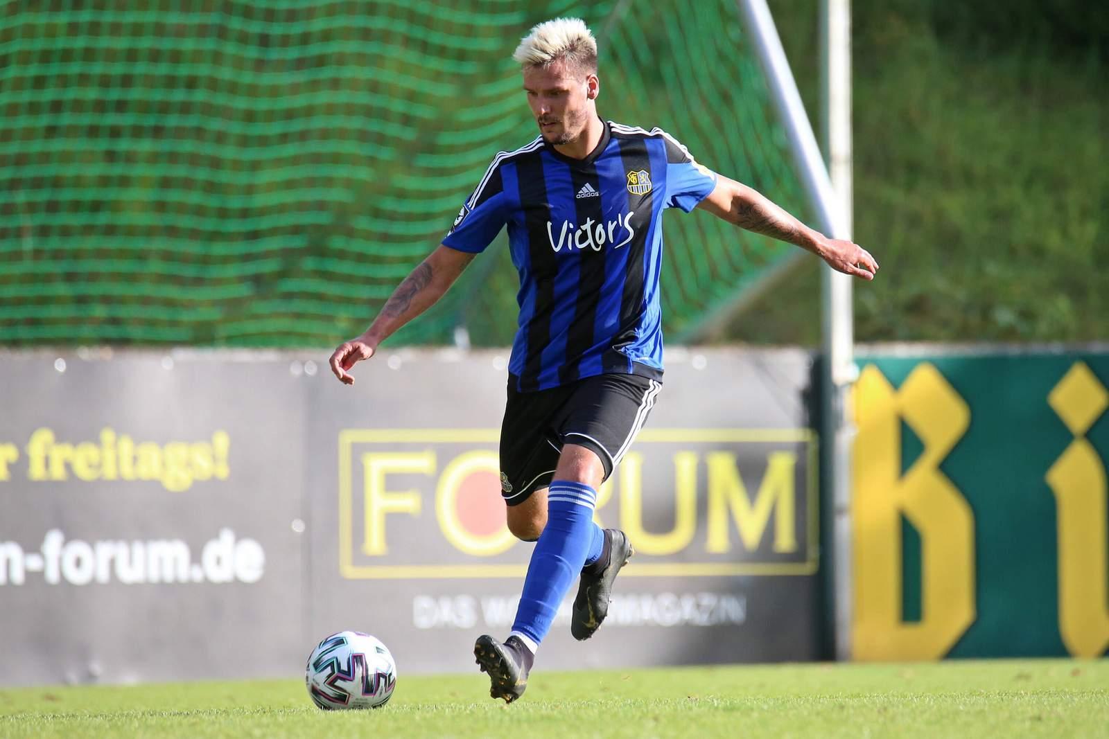 Christopher Schorch im Test gegen Hoffenheim II.