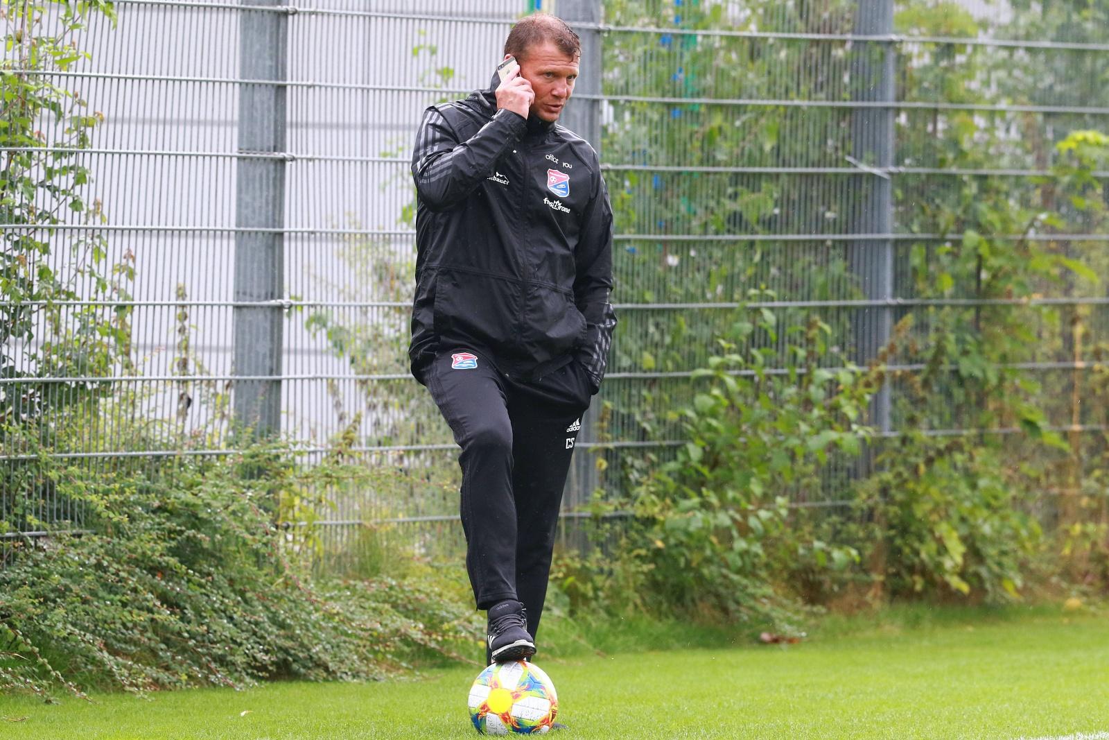 Hachings Sportlicher Leiter Claus Schramm
