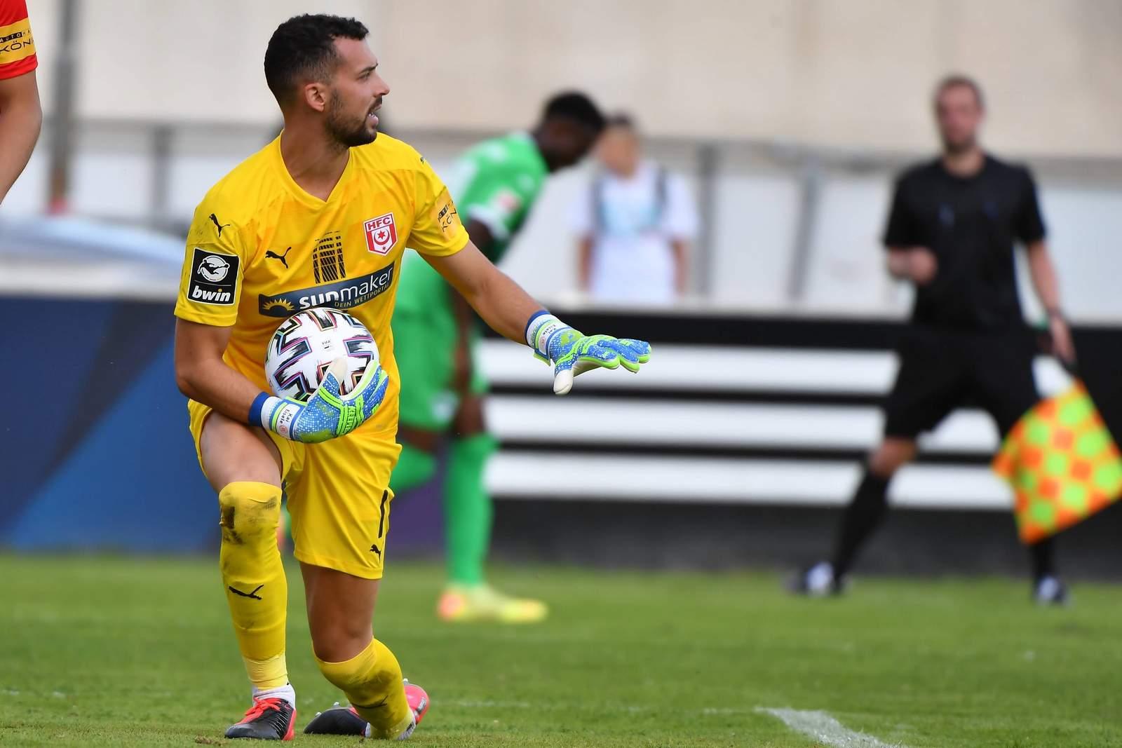 Kai Eisele im Test gegen Greuther Fürth.
