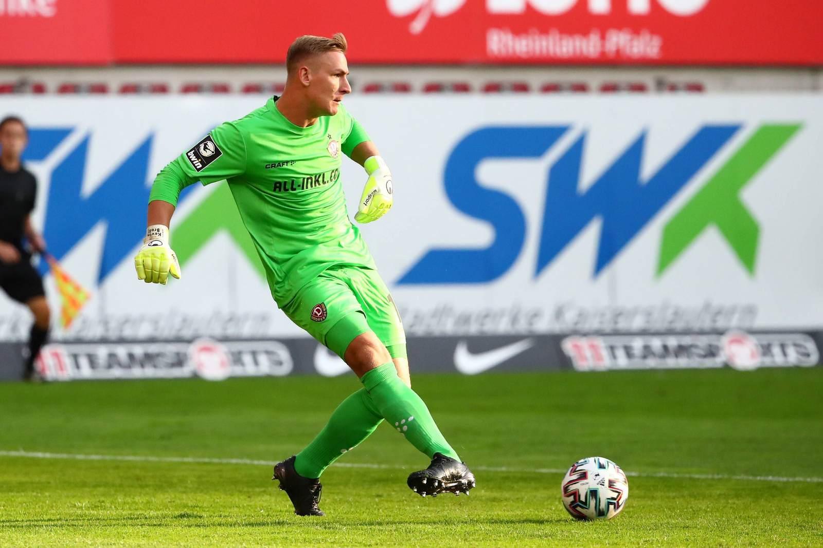 Kevin Broll im Spiel gegen den FCK