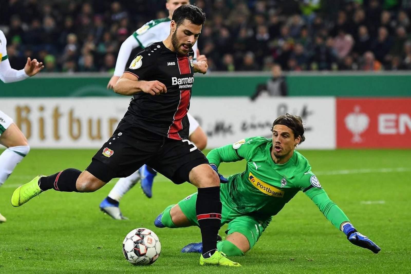 Kevin Volland bei Bayer Leverkusen