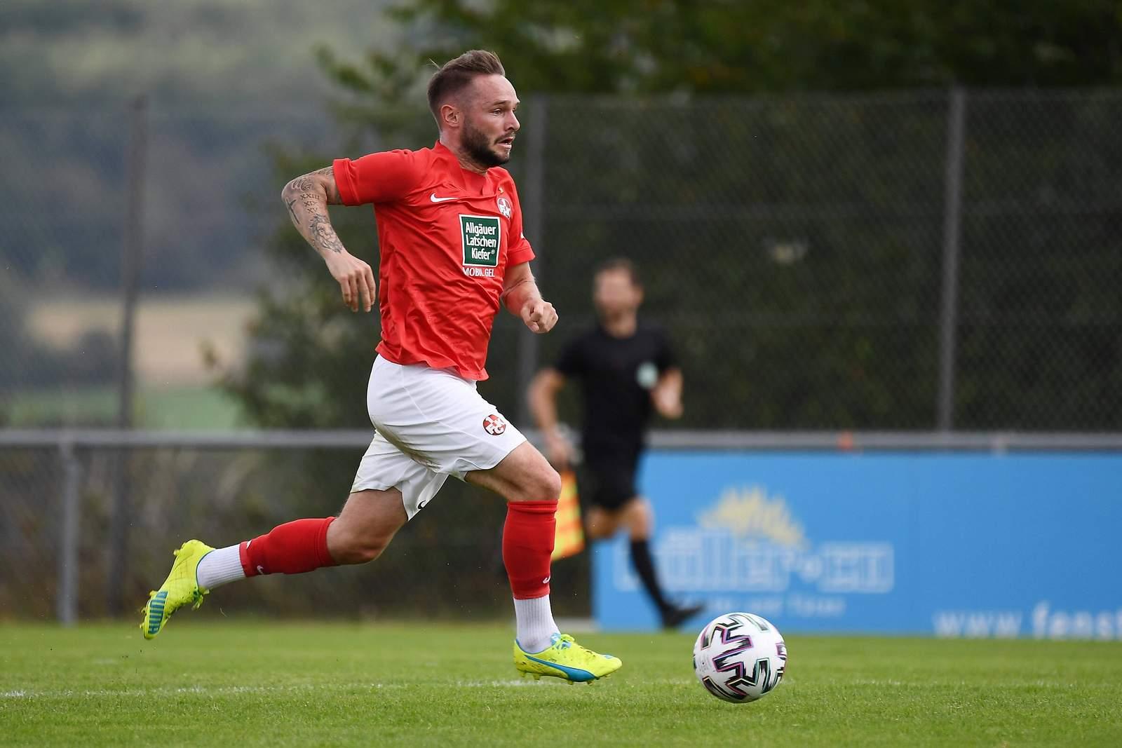 Marius Kleinsorge im Test gegen Wehen Wiesbaden
