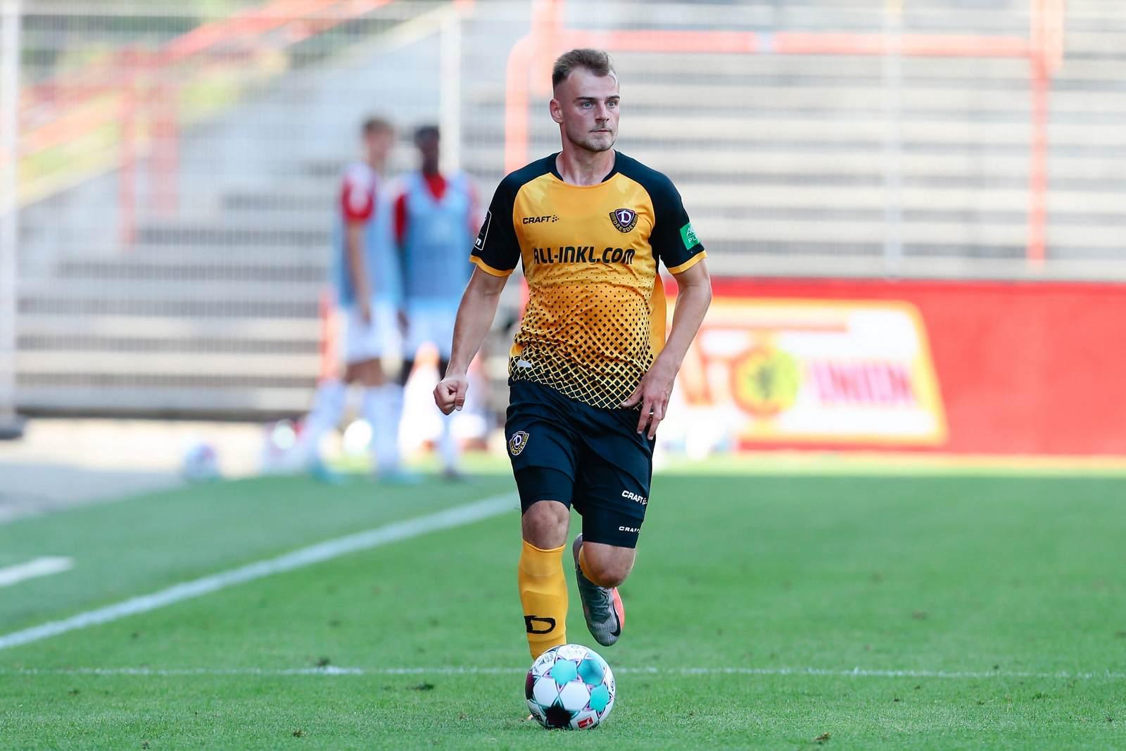 Max Kulke bei der SG Dynamo Dresden