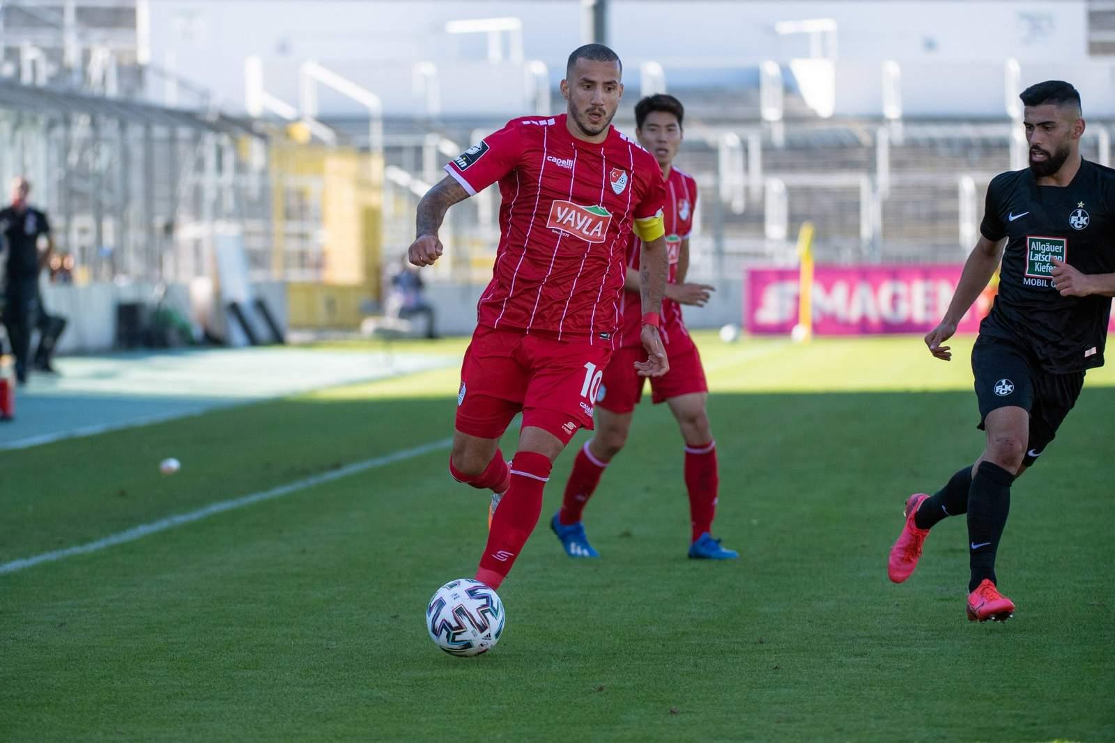 Sercan Sararer gegen den FCK.