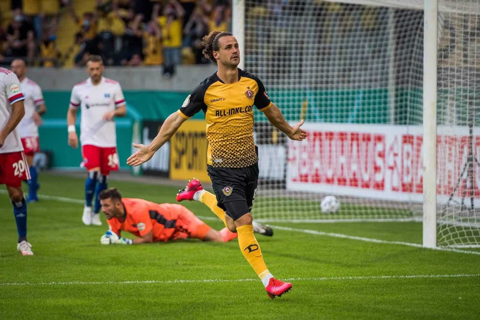 Yannick Stark von Dynamo Dresden