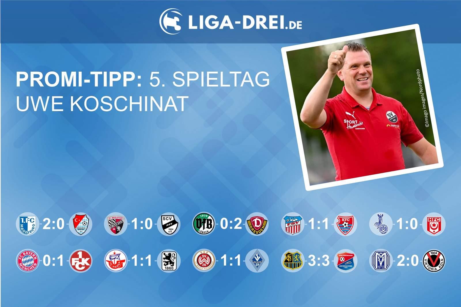 Promi-Tipp 5. Spieltag 2020/21