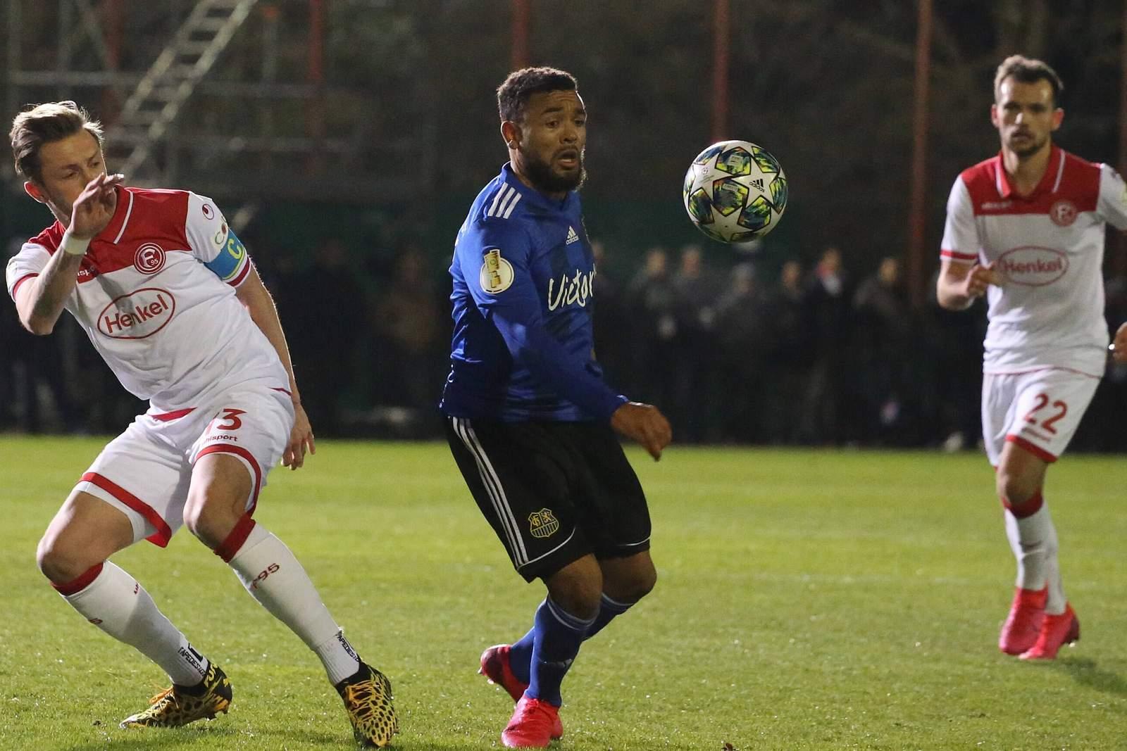 Gilian Jurcher beim 1. FC Saarbrücken