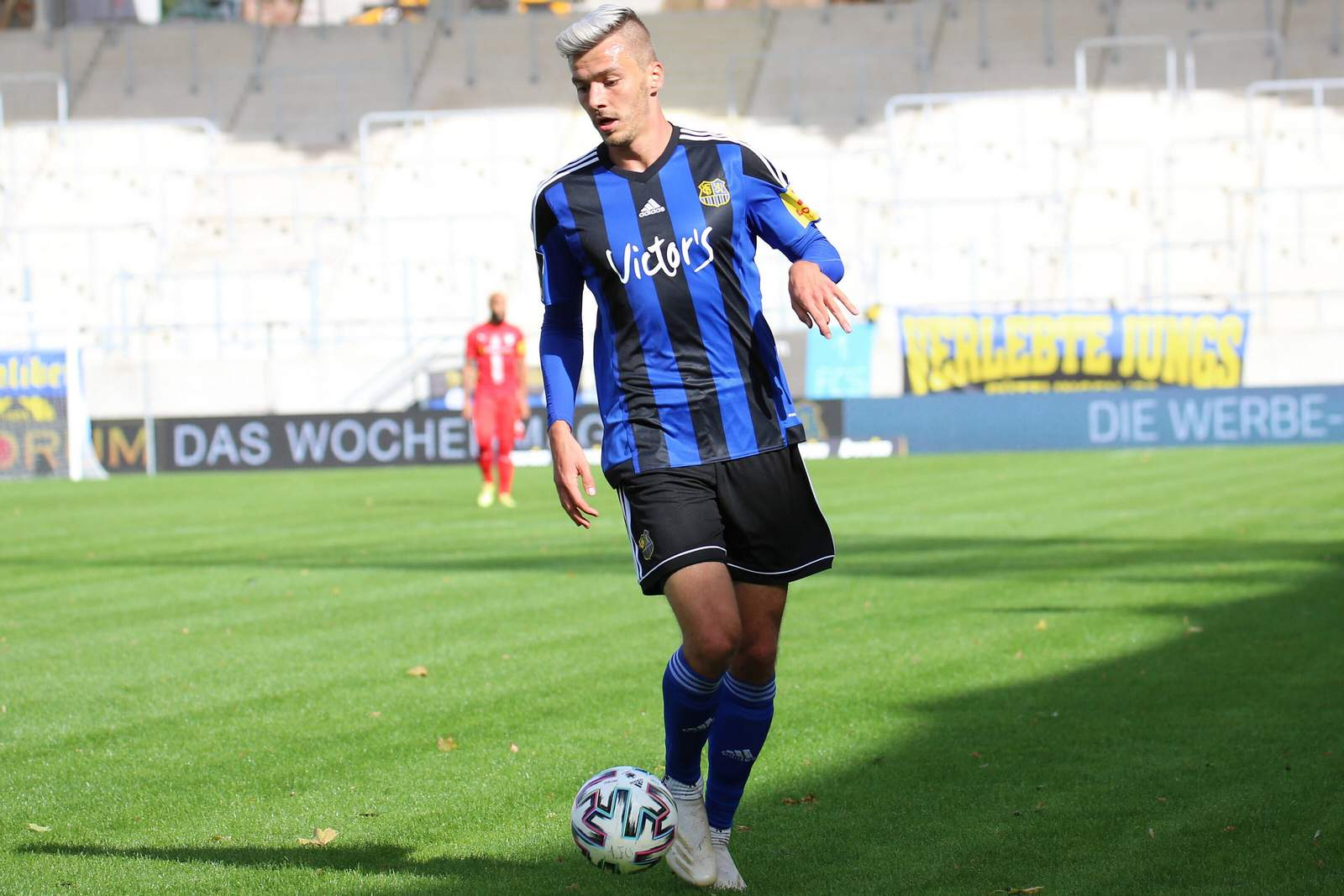 Maurice Deville vom 1. FC Saarbrücken