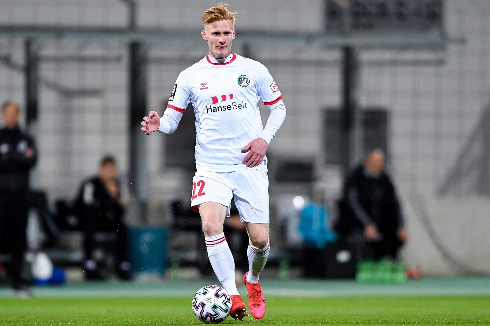 Pascal Steinwender vom VfB Lübeck