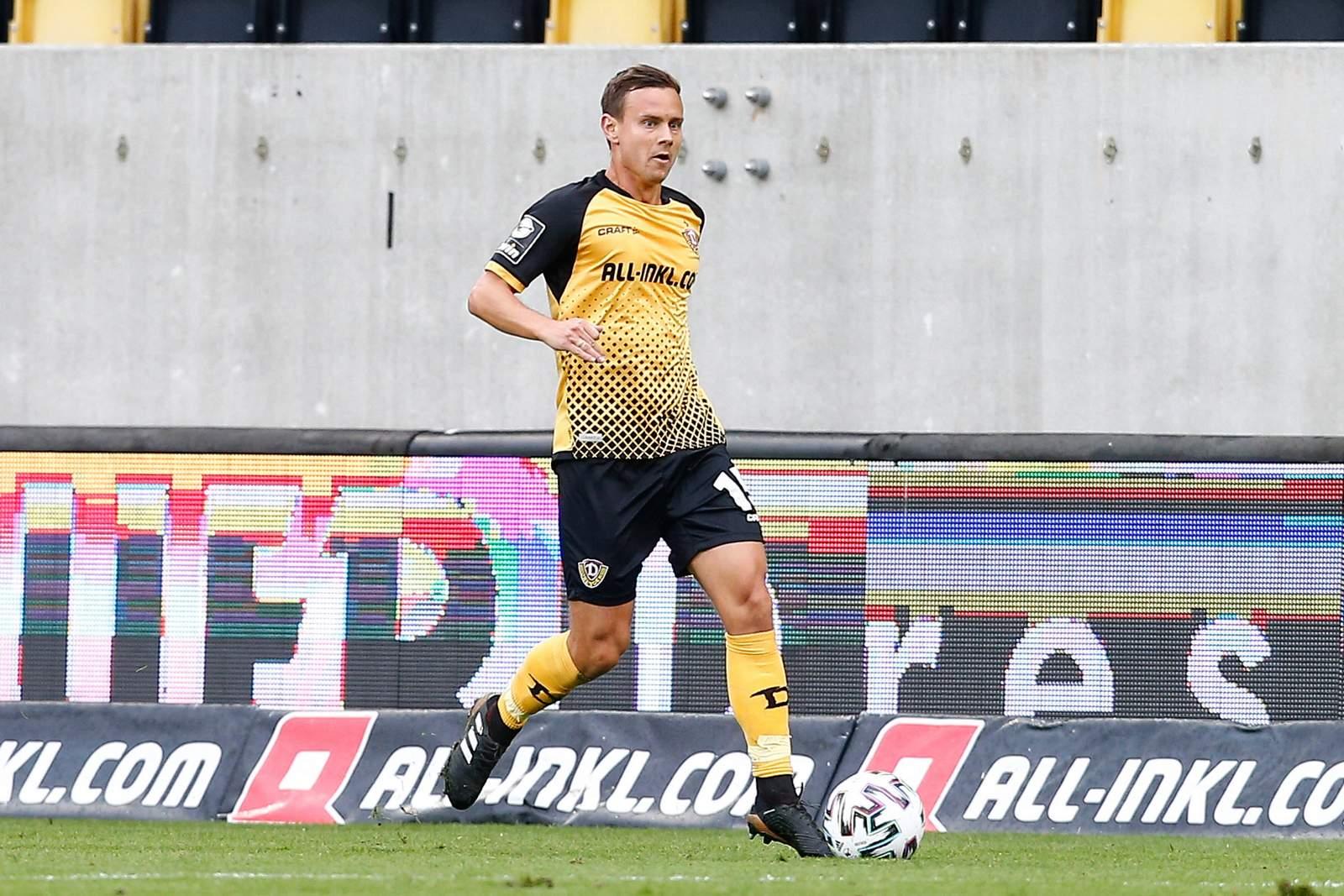 Chris Löwe im Heimspiel gegen Magdeburg.