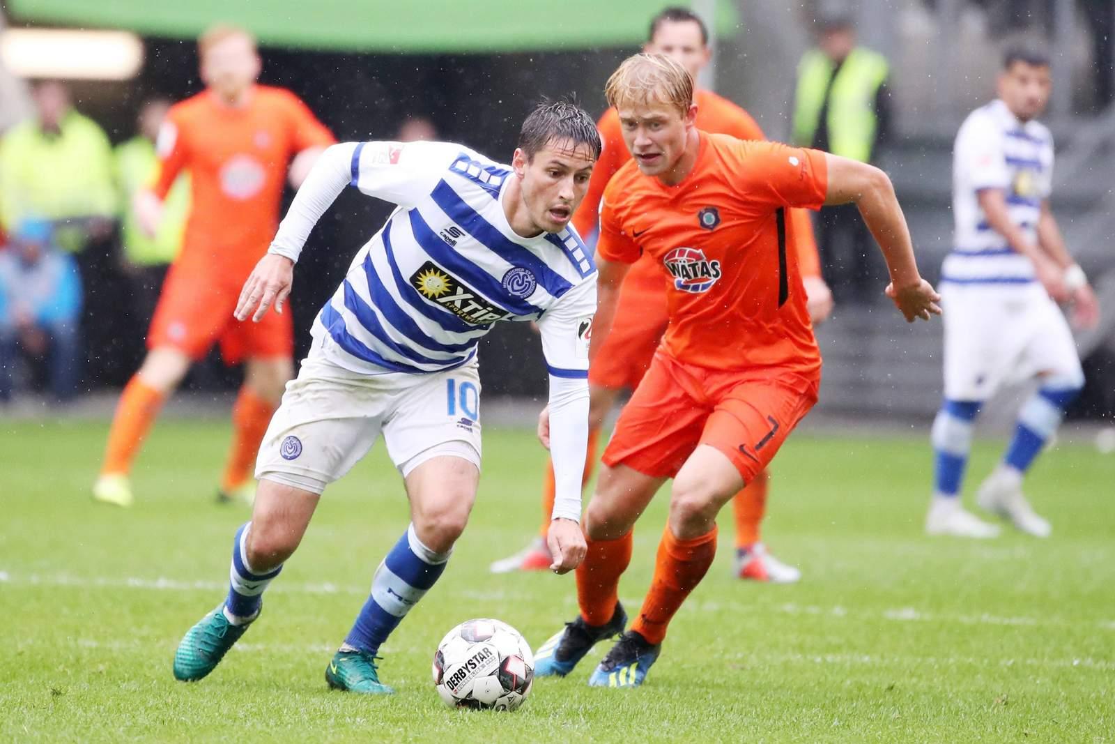Fabian Schnellhardt beim MSV Duisburg