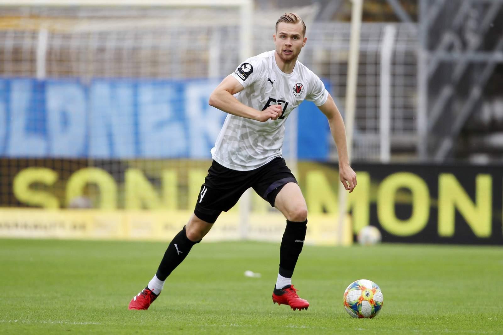 Lars Dietz im Spiel gegen Jena.