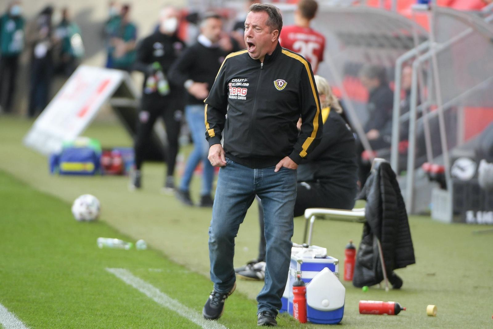 Markus Kauczinski bei Dynamo Dresden