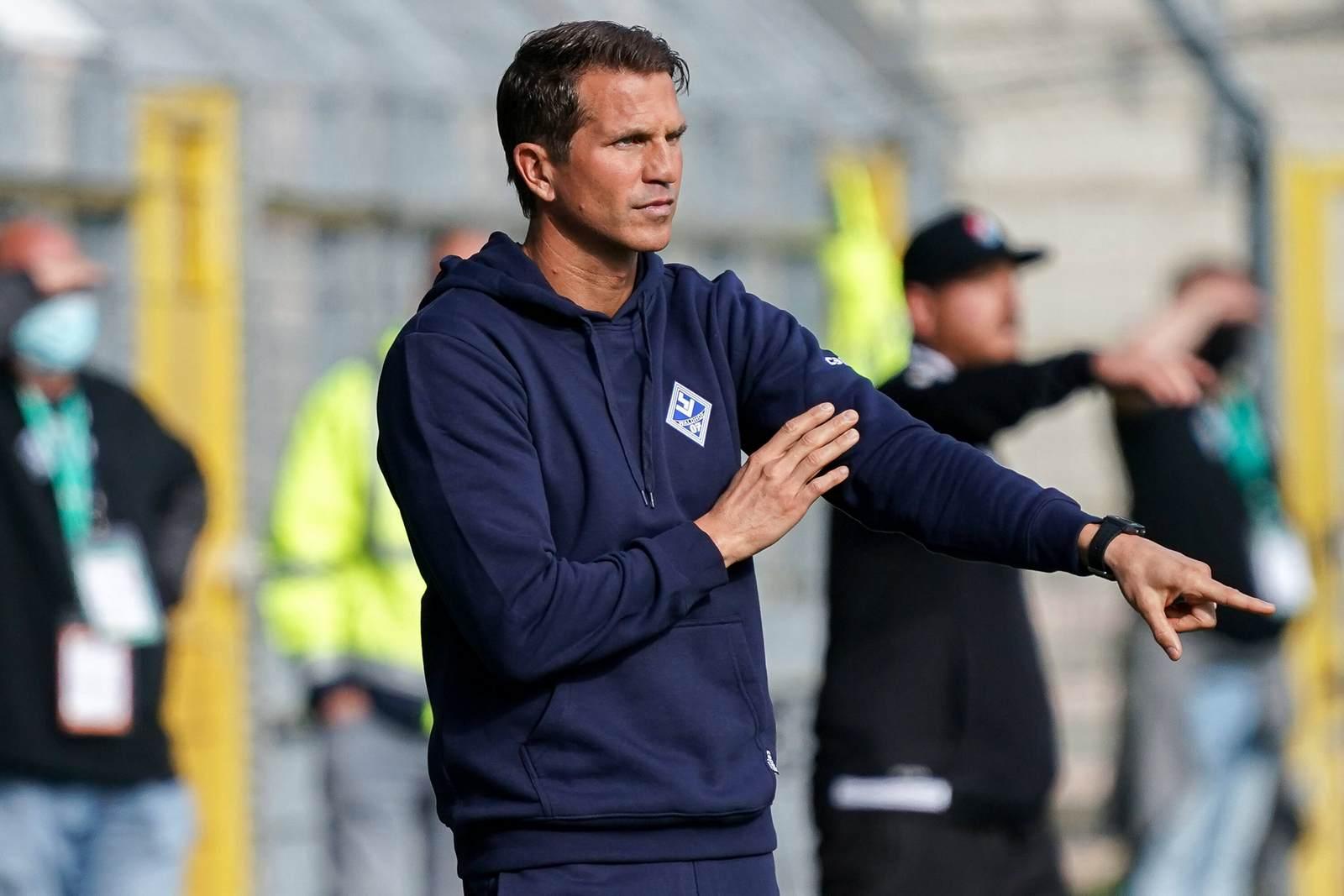 Waldhof Mannheims Trainer Patrick Glöckner