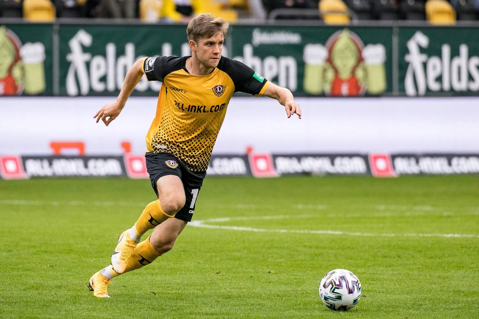 Patrick Weihrauch im Elbderby gegen Magdeburg.