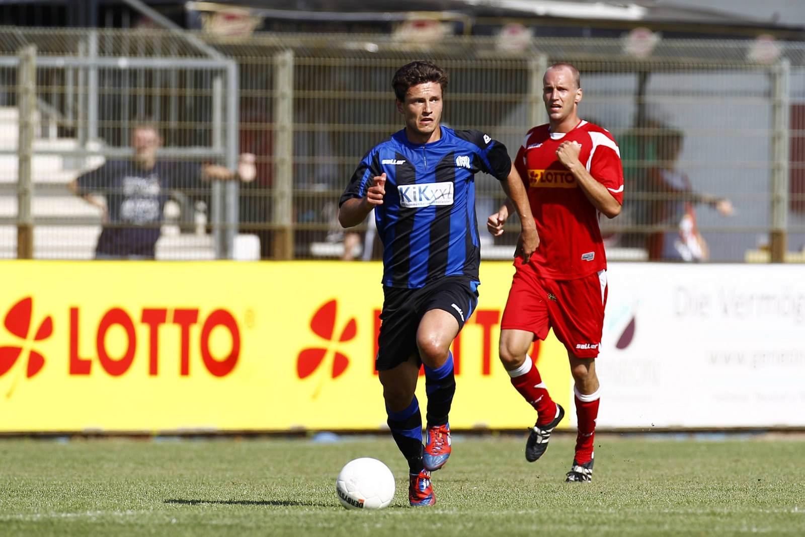 Rainer Müller am Ball für den SV Meppen