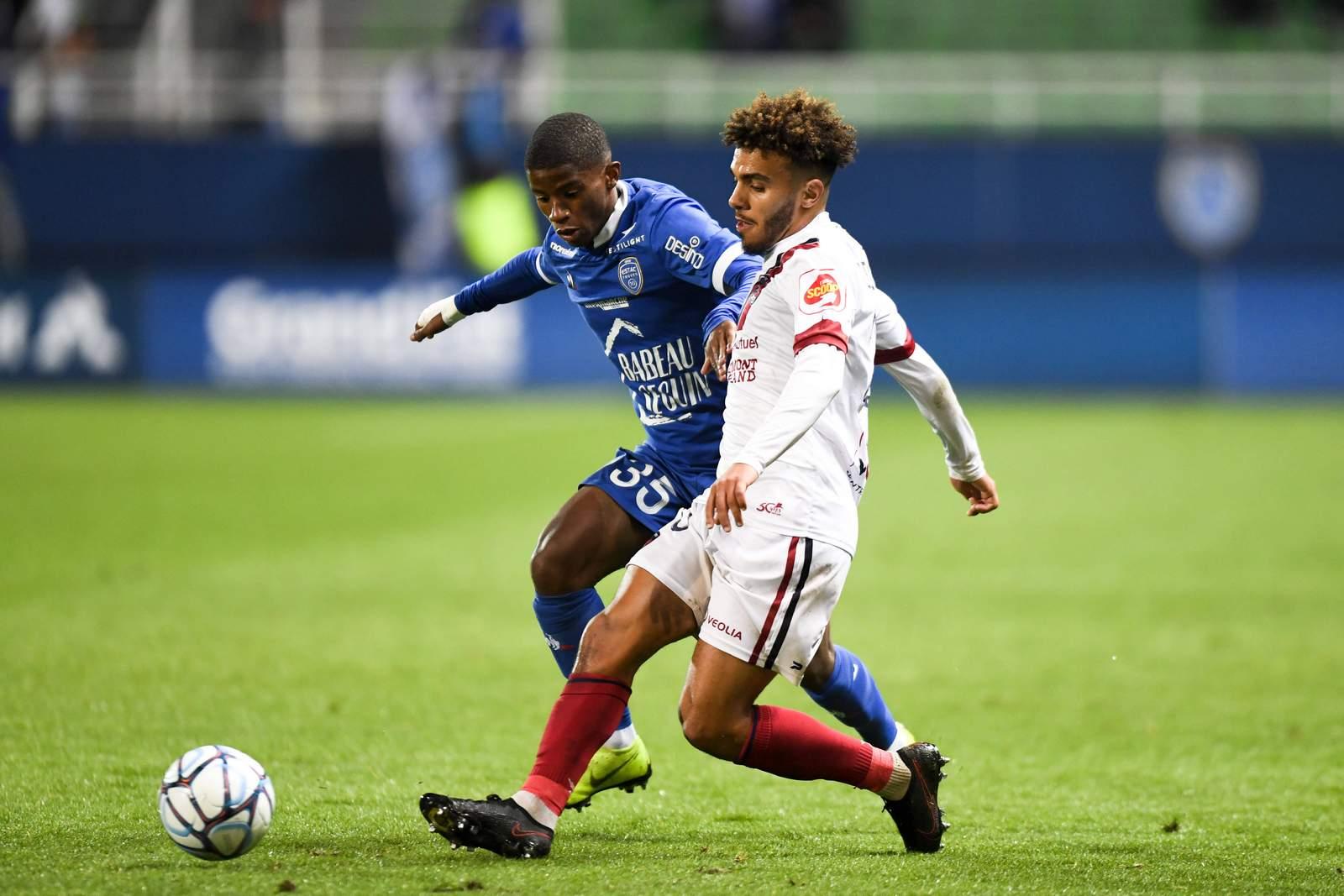 Remy Vita im Einsatz für Troyes.