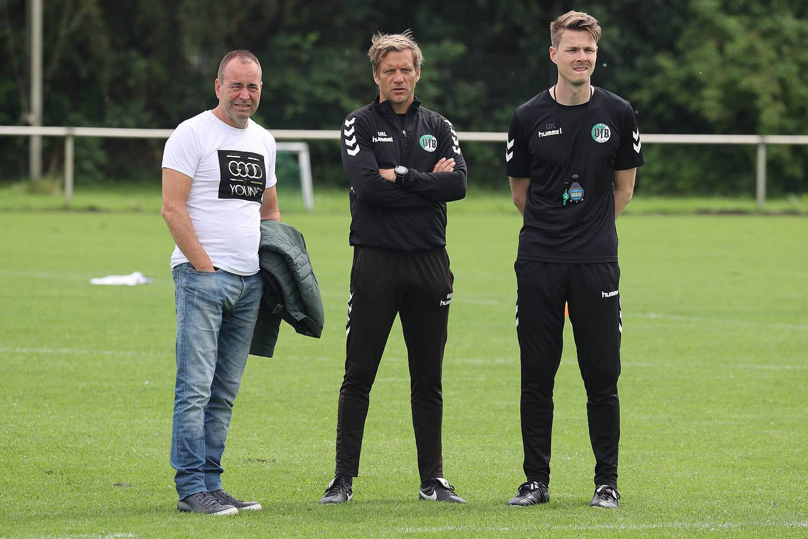 Rocco Leeser, Rolf Martin Landerl und Lukas Pfeiffer.