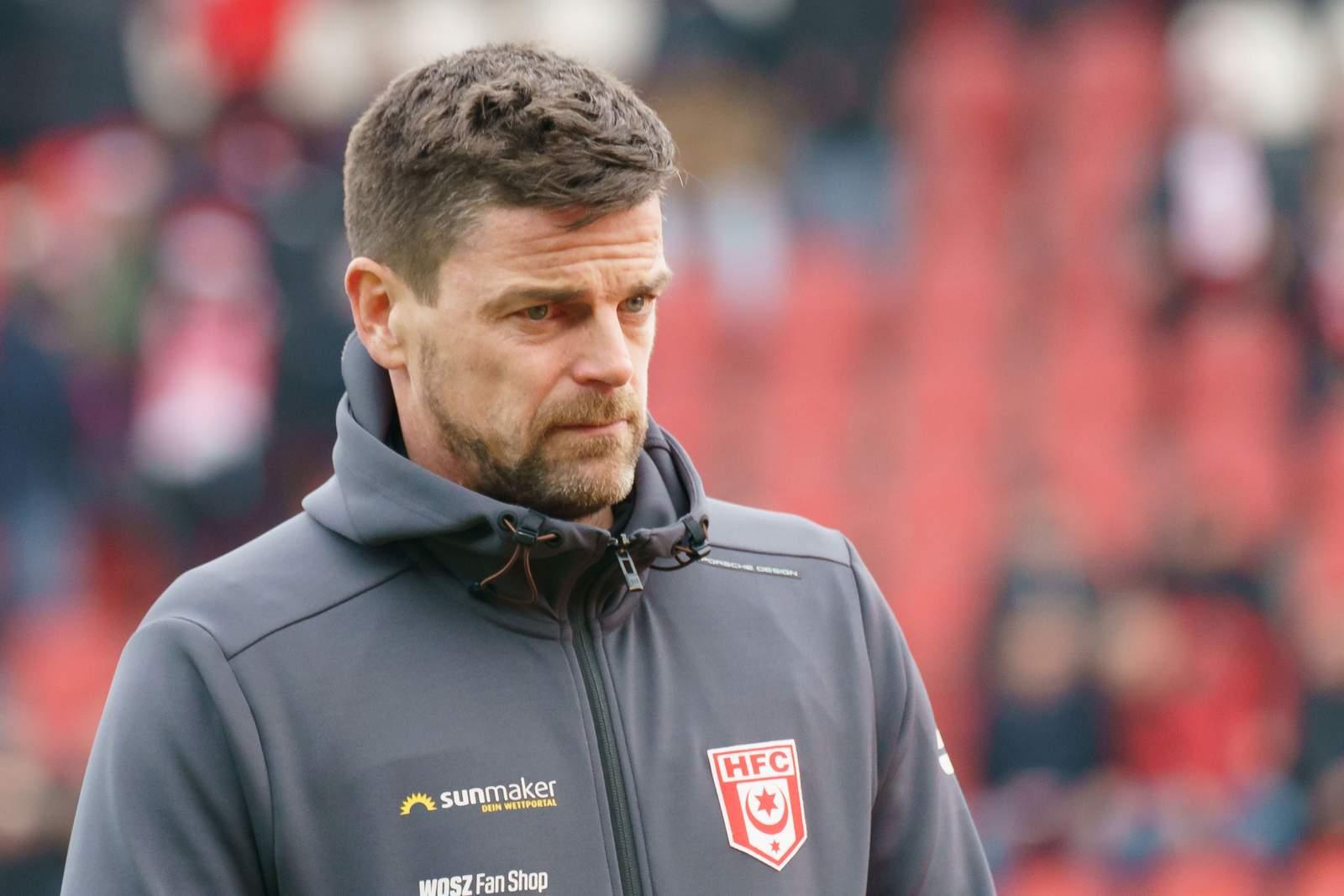 Torsten Zieger als Trainer des HFC