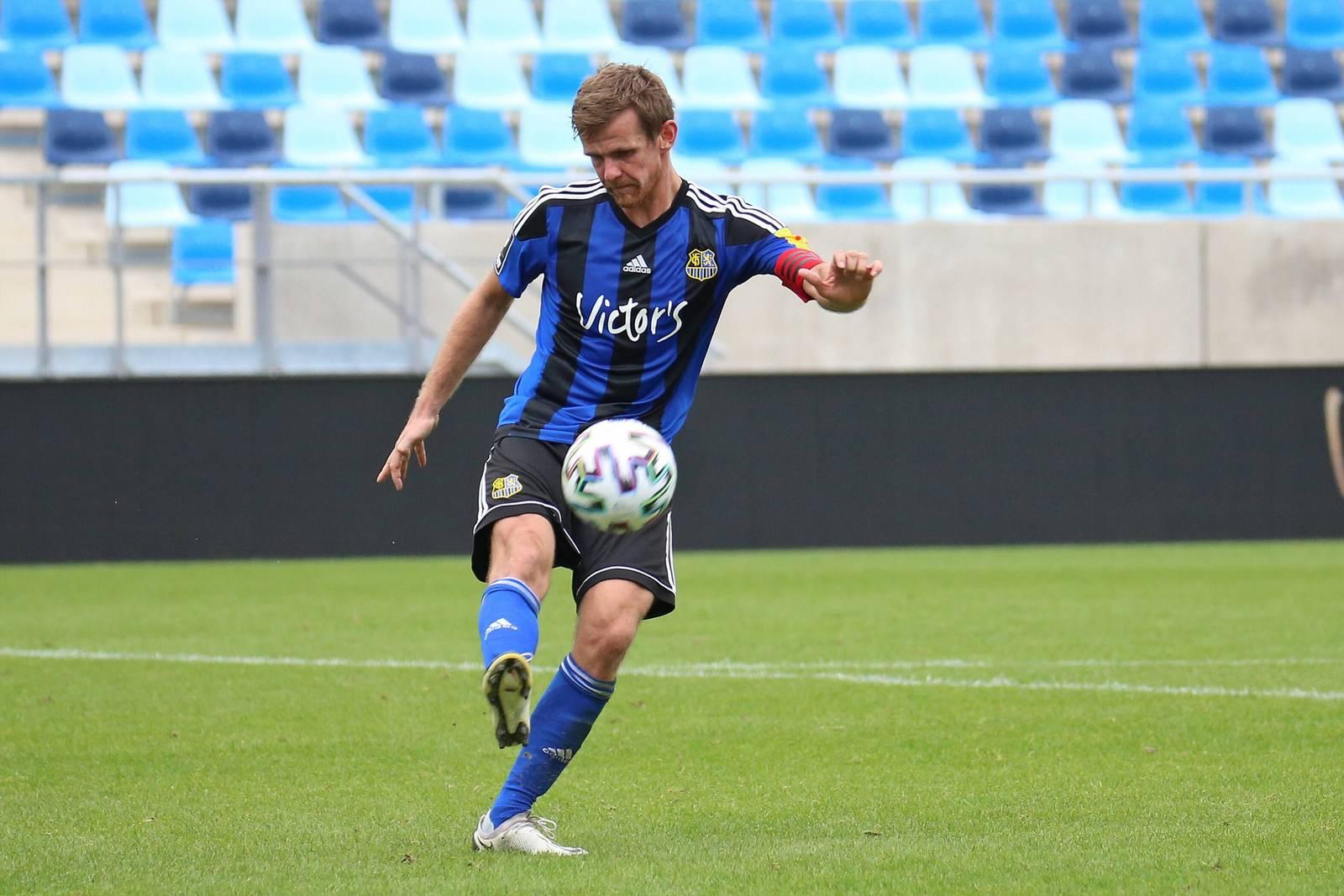 Manuel Zeitz vom 1. FC Saarbrücken