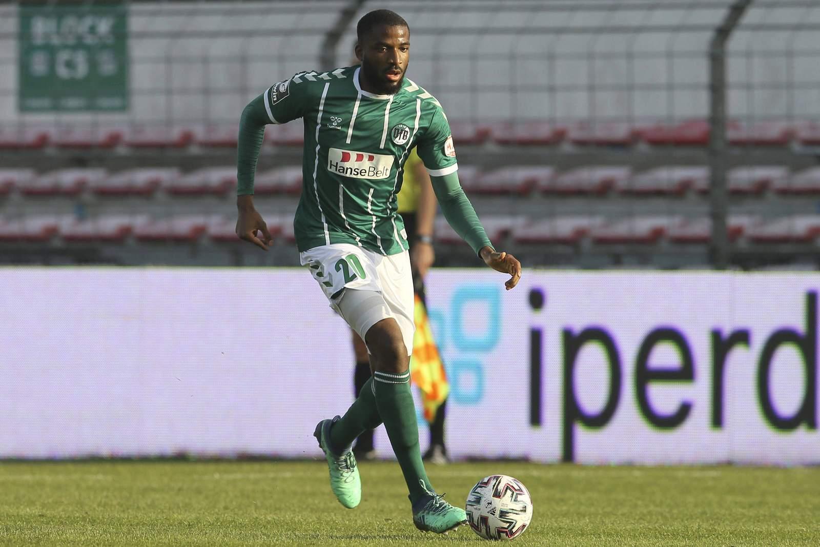 Osarenren Okungbowa vom VfB Lübeck