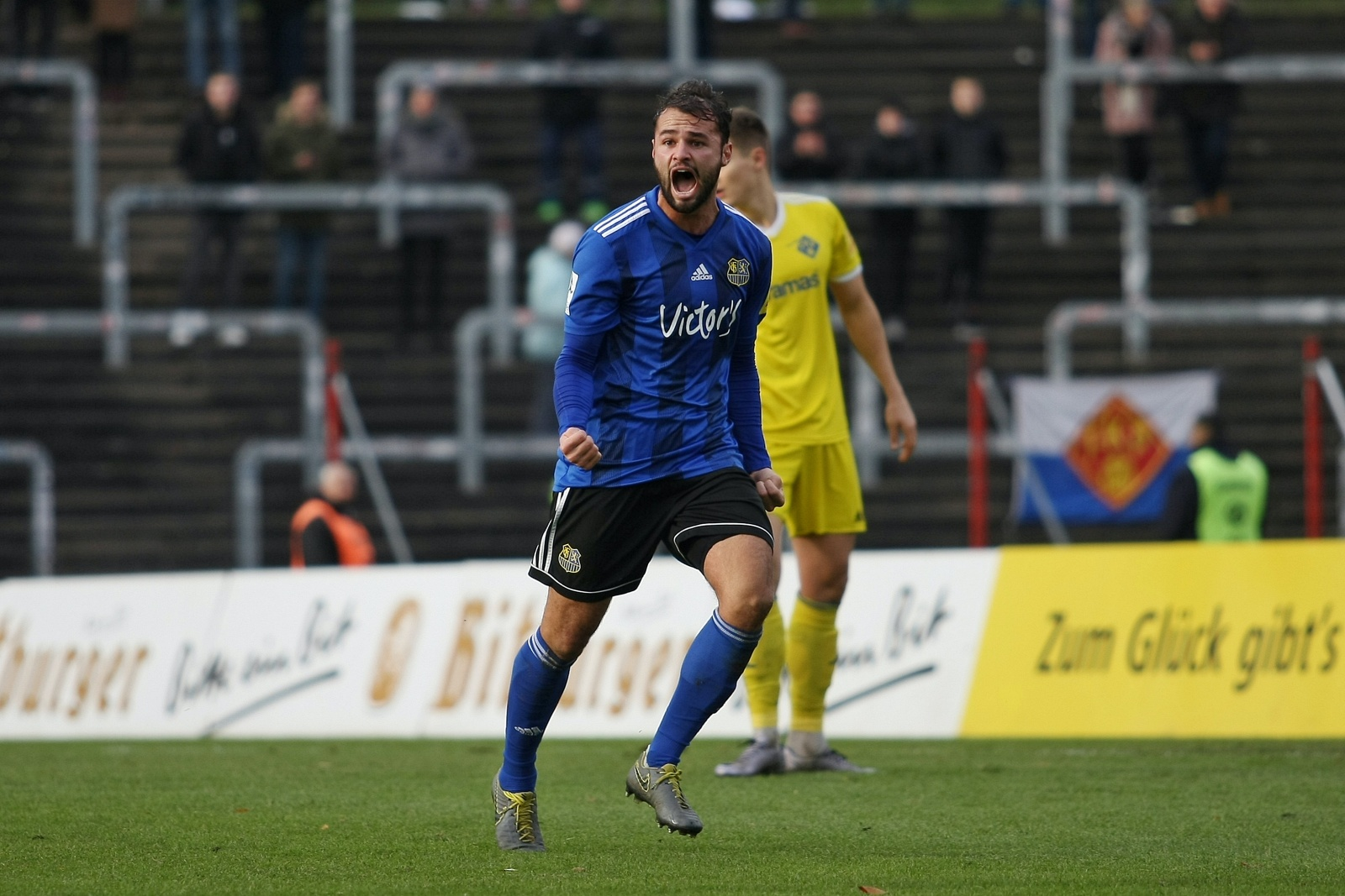 Fabian Eisele beim 1. FC Saarbrücken