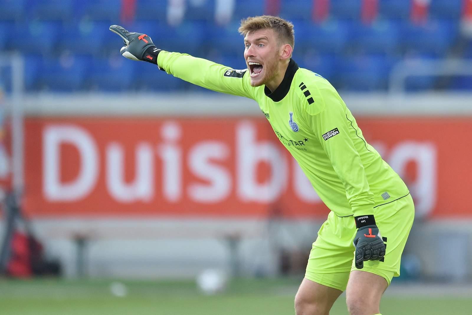 Leo Weinkauf gegen Dynamo Dresden.