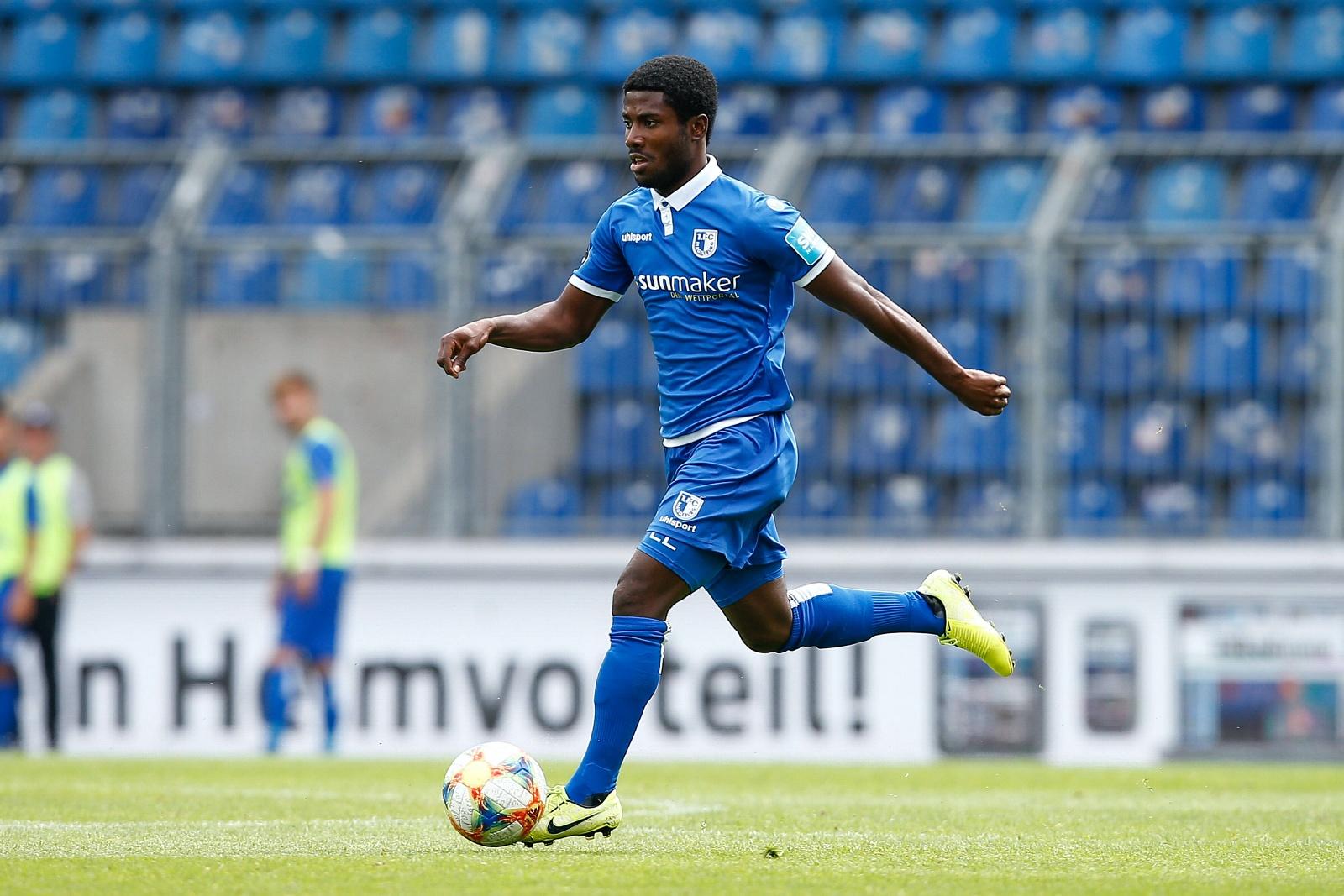 Manfred Osei Kwadwo beim 1. FC Magdeburg