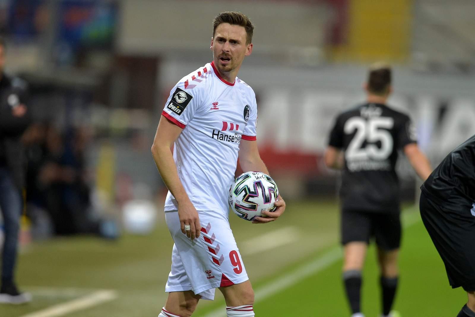 Martin Röser beim VfB Lübeck