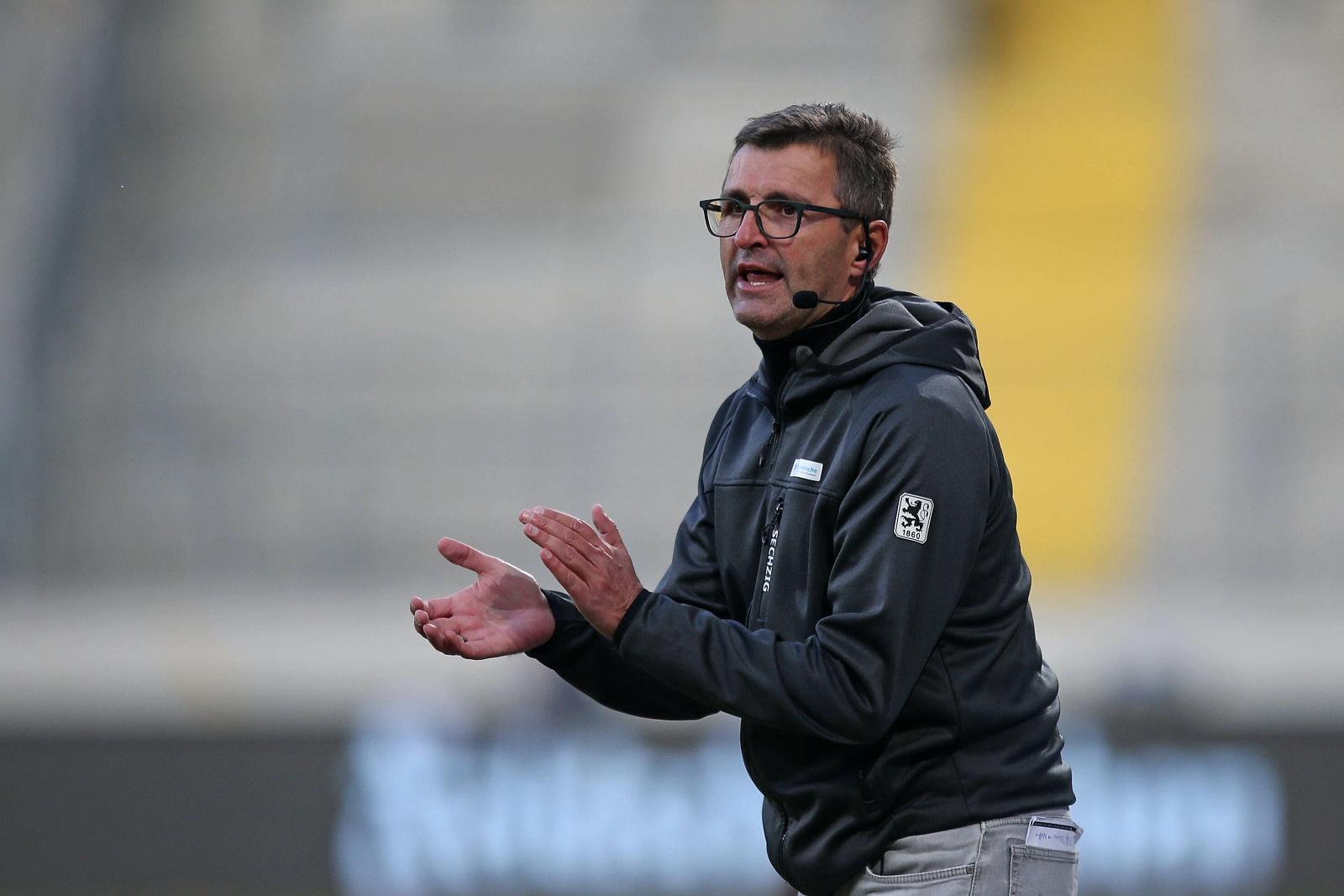 Michael Köllner als Trainer des TSV 1860 München