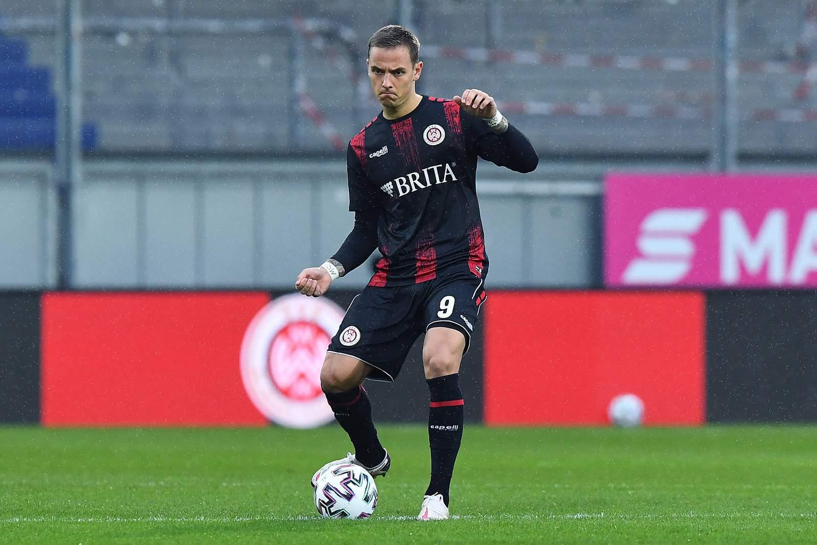 Phillip Tietz im Heimspiel gegen die Bayern U23.