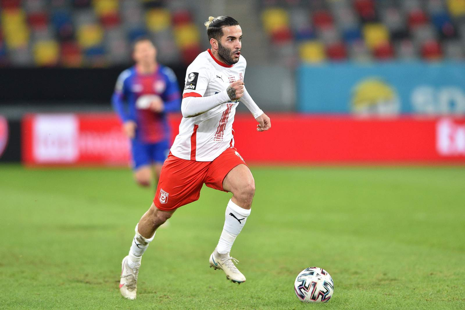 Selim Gündüz im Auswärtsspiel gegen Uerdingen.