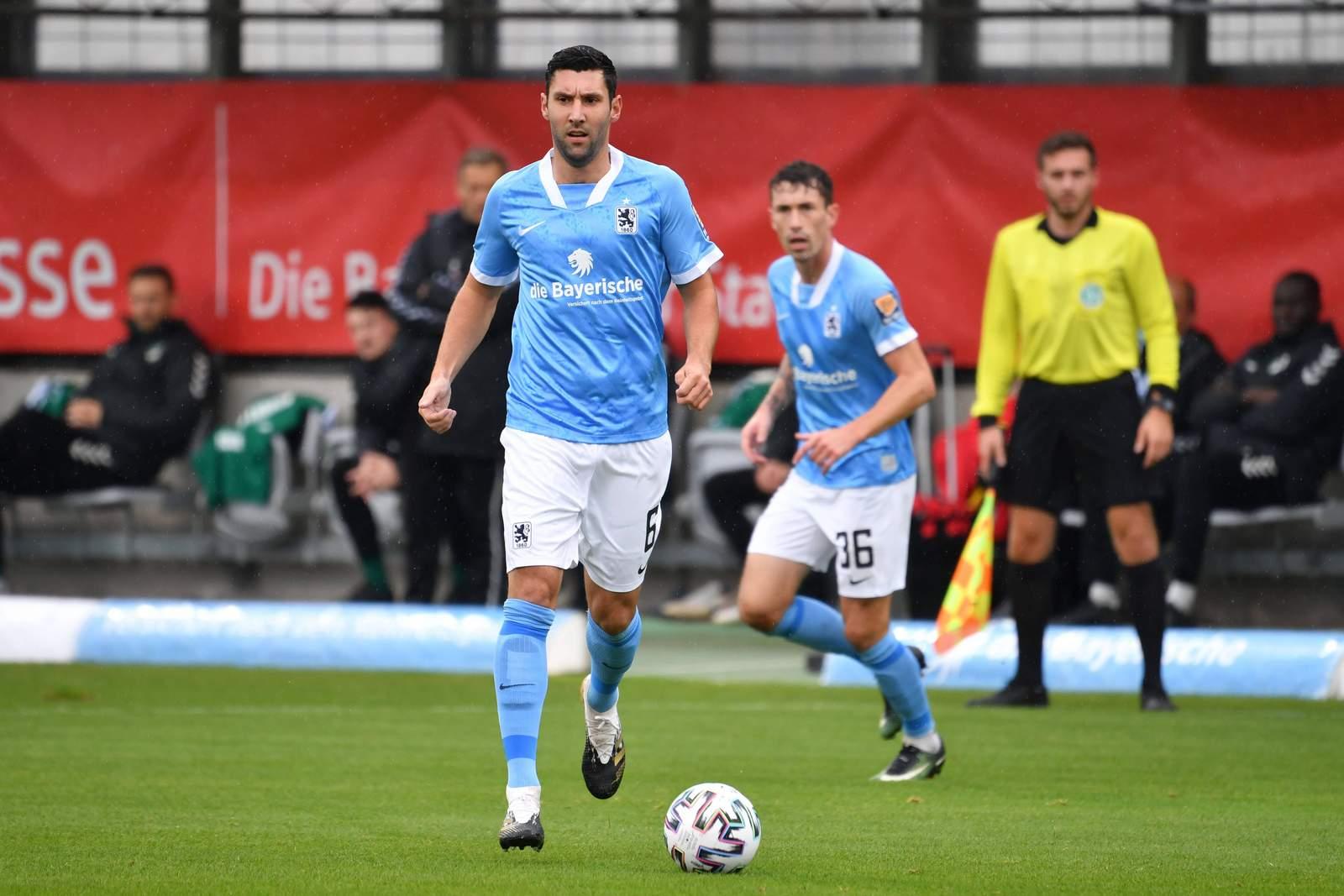 Stephan Salger im Heimspiel gegen Lübeck.