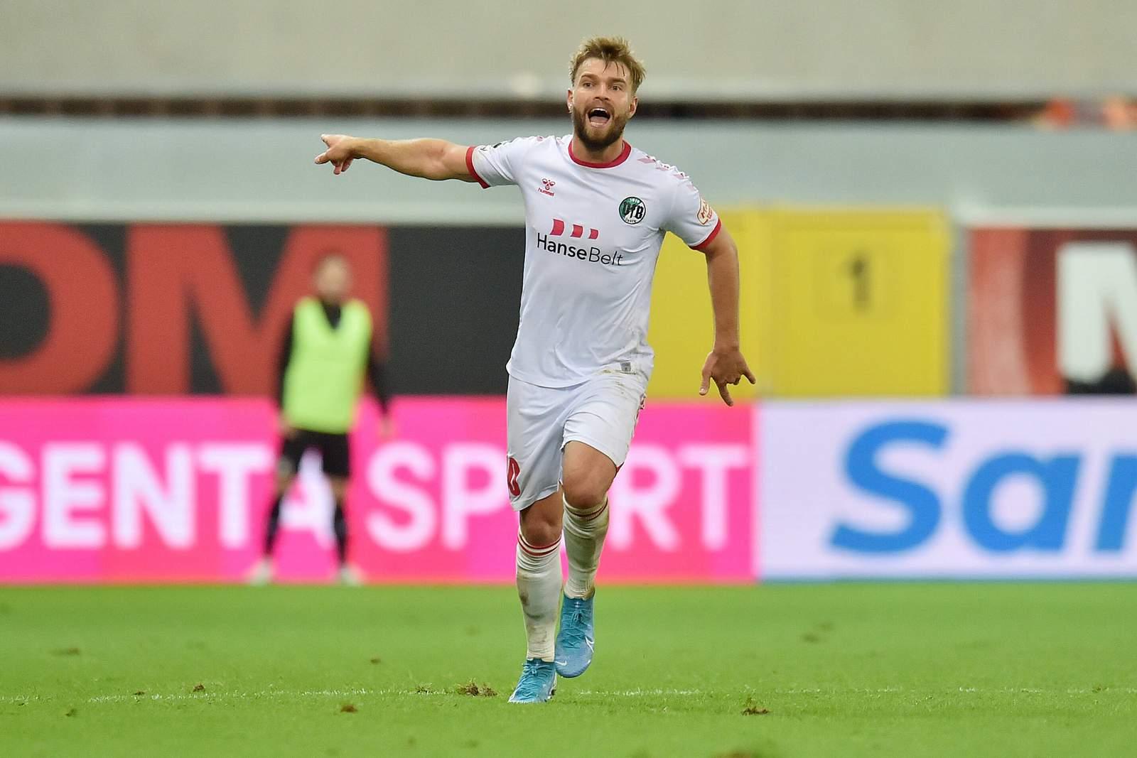 Yannick Deichmann beim VfB Lübeck