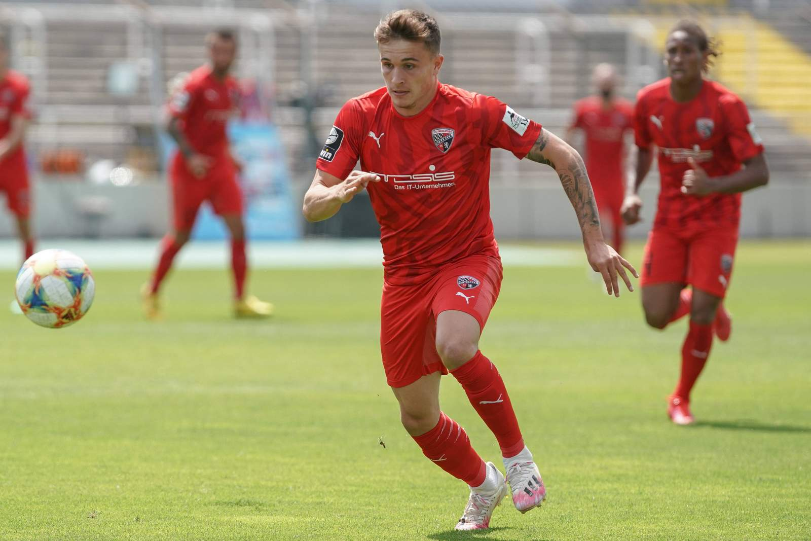 Dennis Eckert Ayensa vom FC Ingolstadt