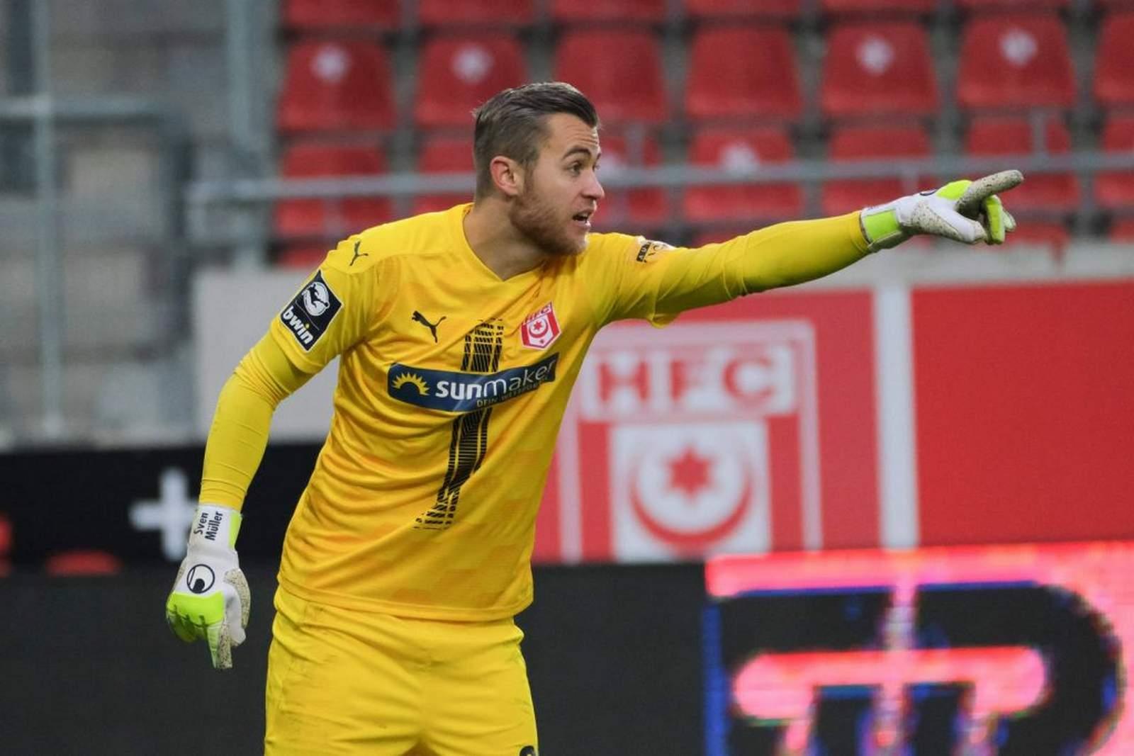 Sven Müller vom HFC